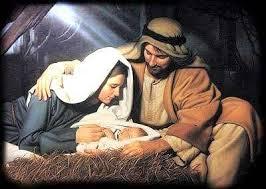 Christ in a manger